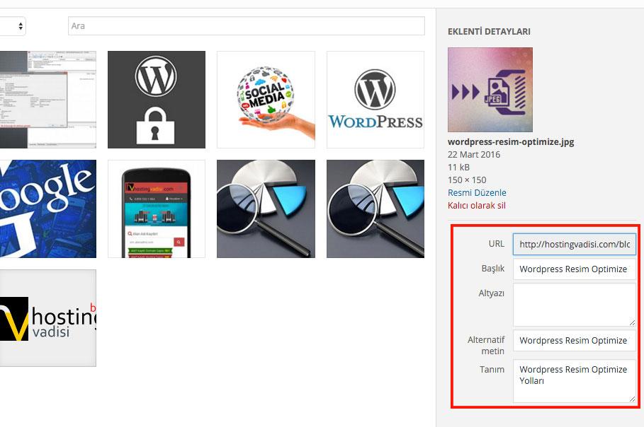 Wordpress Resim Optimize Etme Yolları